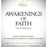 Awakenings of Faith 2016